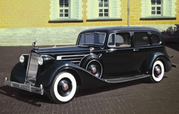 1/35 Packard Twelve (Model 1936), WWII Soviet Leader's Car with Passengers